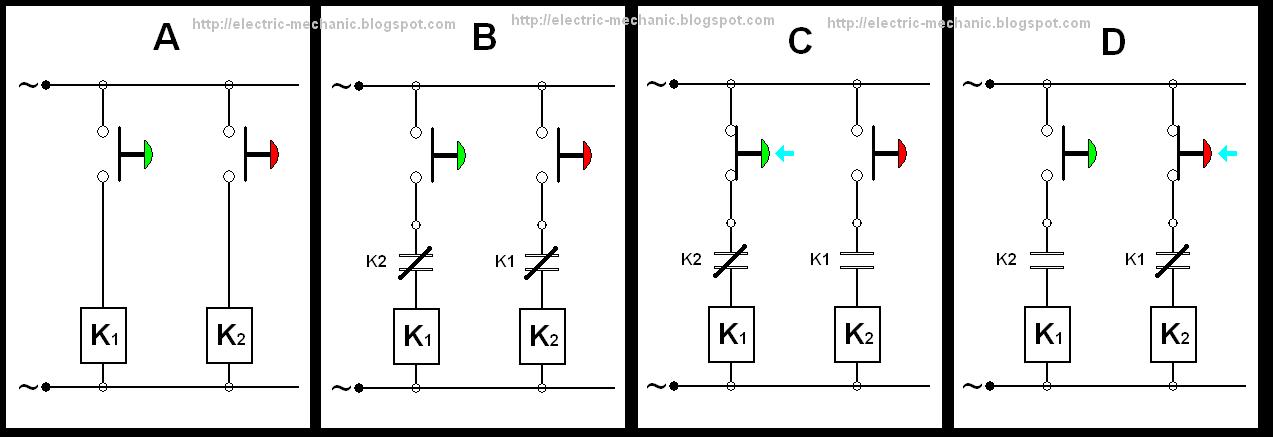 Wiring Diagram Motor Bolak Balik (Forward Reverse Three ...