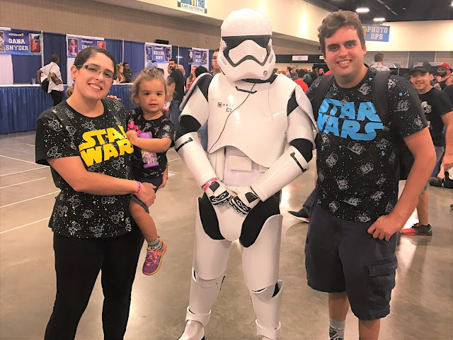 "Leia calls Storm Troopers, ""Baby Star Wars."" Me, Leia, and Looey."