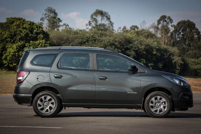 Novo Chevrolet Spin 2017