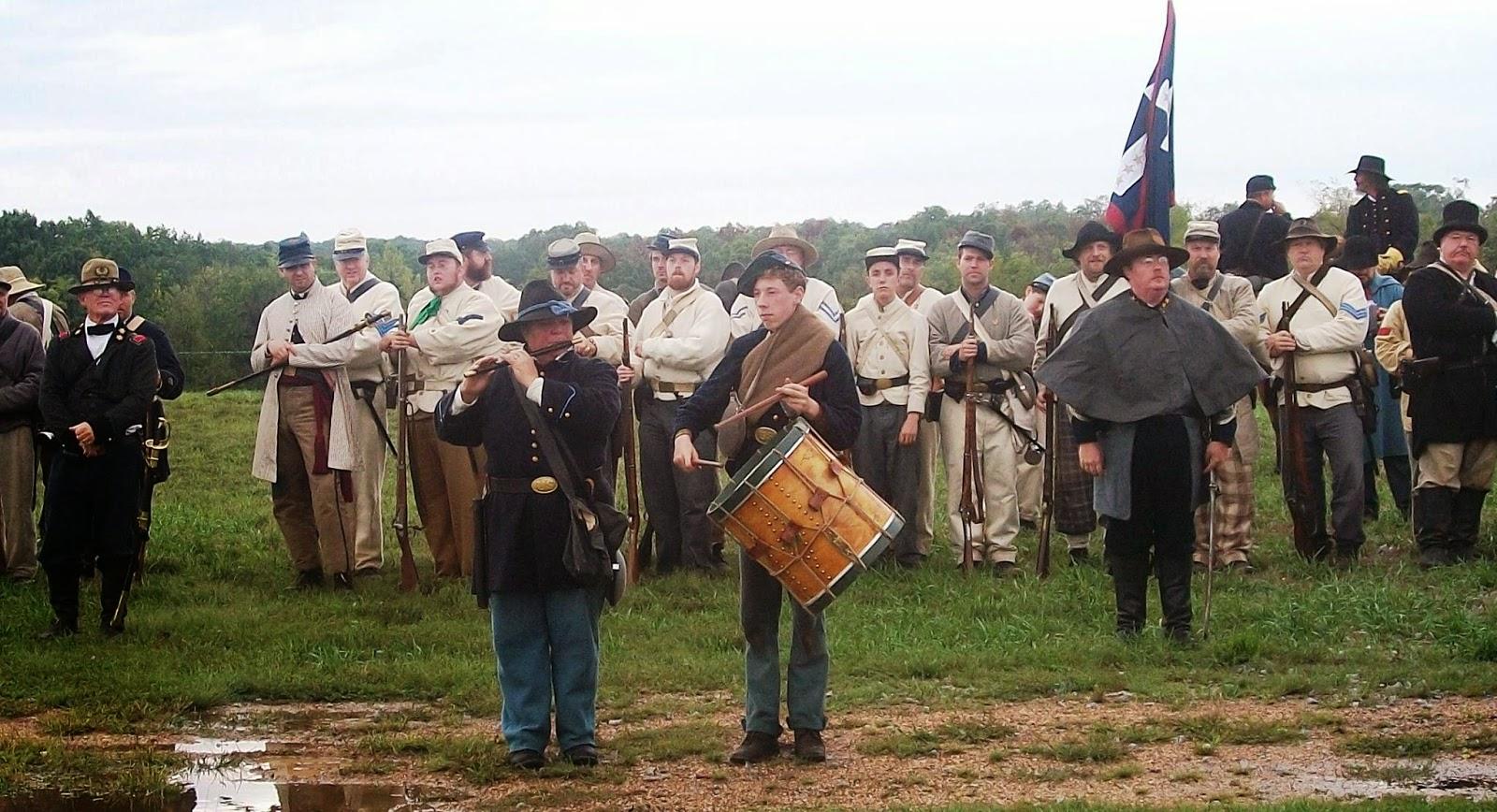 Camden-Miller-Pulaski Missouri History: The Battle of