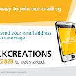 Text to Join Silk Creations by Janey's email list!