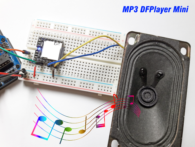 Módulo MP3 DFPlayer Mini Arduino