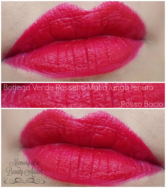 Beauty_Addict_Rossetto_Mat_Assoluto_Bottega_Verde_Swatch_Labbra