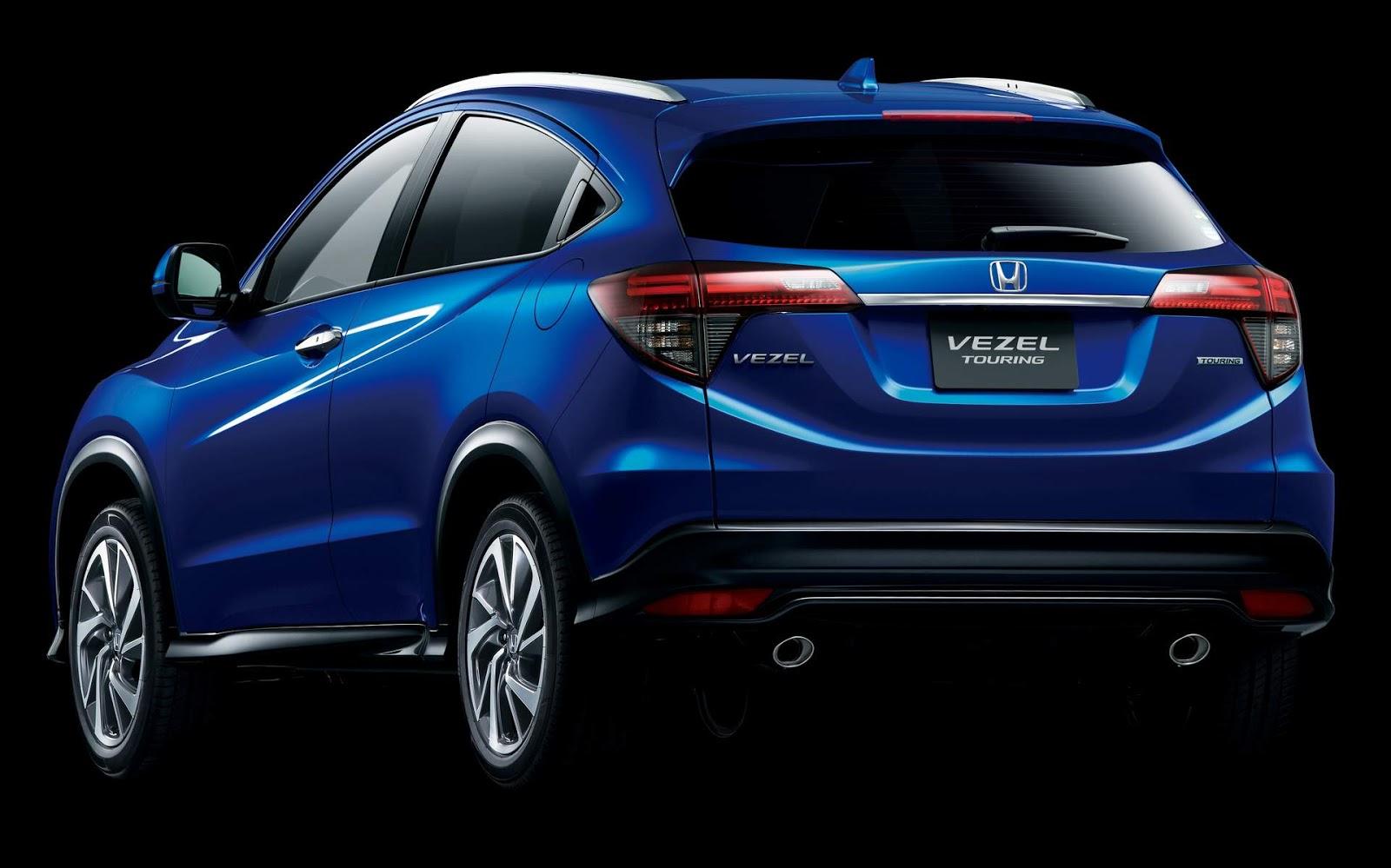 Honda HR-V (Vezel) Turbo 2019: preço e consumo - Japão