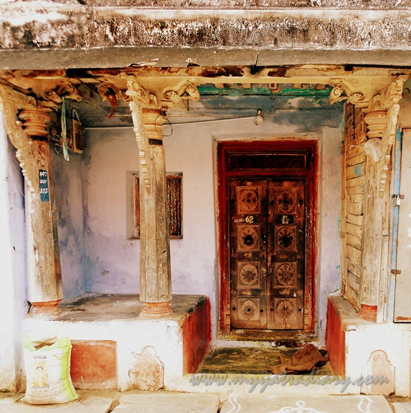 An ancient house in Rameshwaram, Tamil Nadu