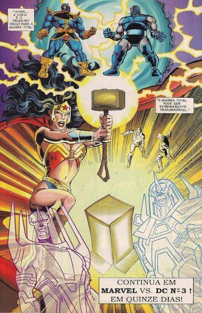 Diana fica mais poderosa com o martelo de Thor