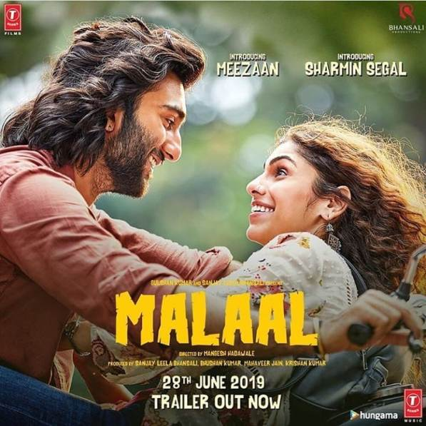 Malaal new upcoming movie first look, Poster of Meezaan, Sharmin next movie download first look Poster, release date