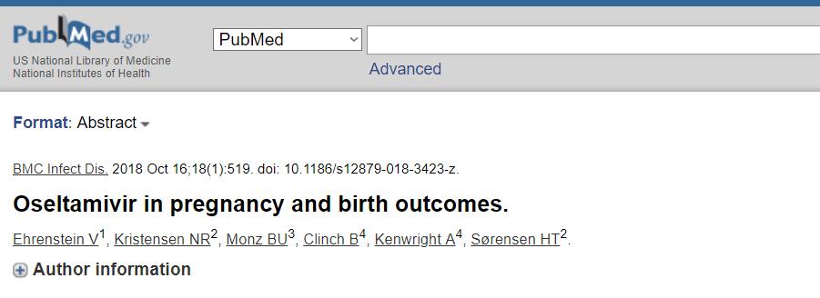... у хворих на грип вагітнх не спричинило збільшення ризикив розвитку  вроджених вад e09745c78c748