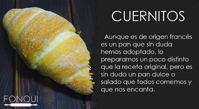 Pan mexicano FonQui repostería recetario