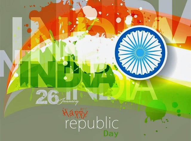 Republic Day happiness Whatsapp Status DP Images Facebook Hike Sticker Timeline