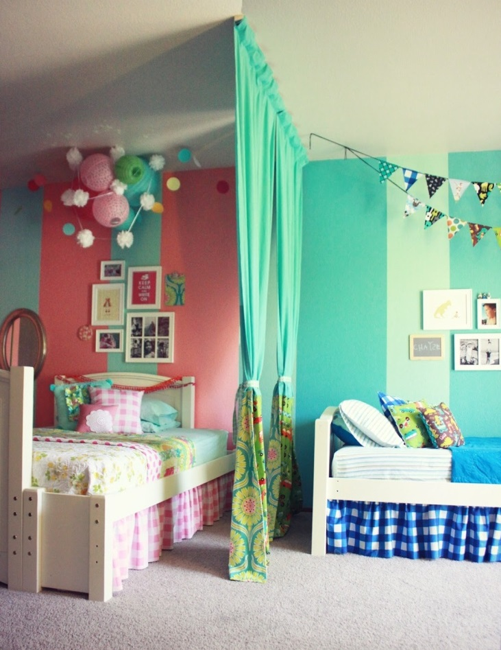 Pepper and buttons best boy girl shared room ideas - Boy and girl room ...