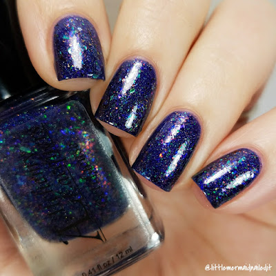 Alchemy Lacquers Star Shards Collection Betelgeuse Swatches and Review