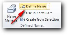 Define Name di Ms Excel