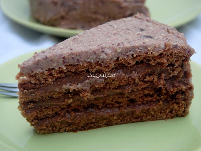 Thibodaux Chocolate Doberge Cake