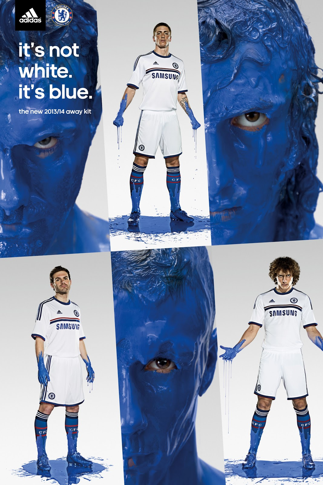 0285f772d9b adidas and Chelsea FC have today revealed the new away kit for the  forthcoming 2013 14 season.