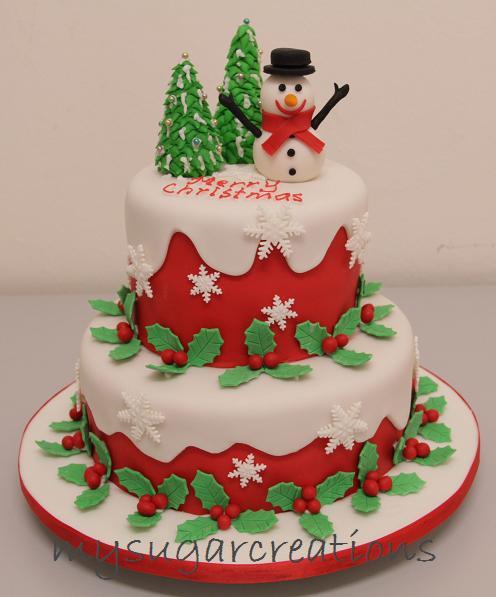 My Sugar Creations 001943746 M Christmas Cake 2012