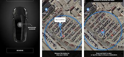 Tesla Model 3 autonomously picking up owner in parking lot