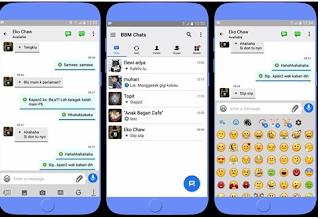 BBM MOD Like iOS v3.2.0.6 Apk Terbaru