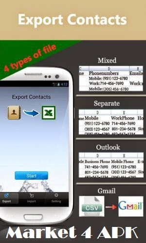Excel Contacts v2 7 7 Premium ~   :: Market 4 APK ::