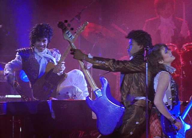 Purple Rain spawned a lot of merch in 1984, which is why it's bizarre that nobody ever thought to mass-produce that awesome electric guitar that ejaculates water.