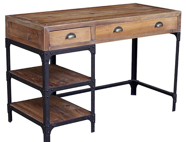 best buying rustic metal office furniture for sale