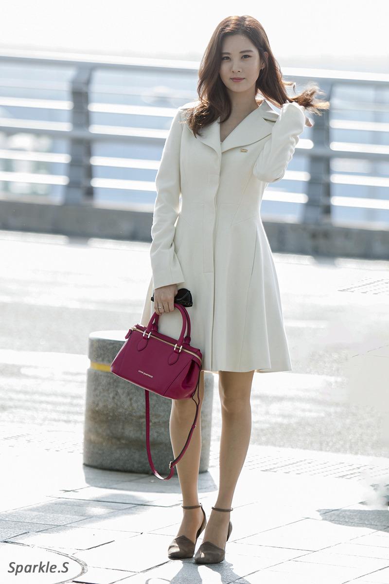 Fashsion: SNSD Seohyun Airport Fashion