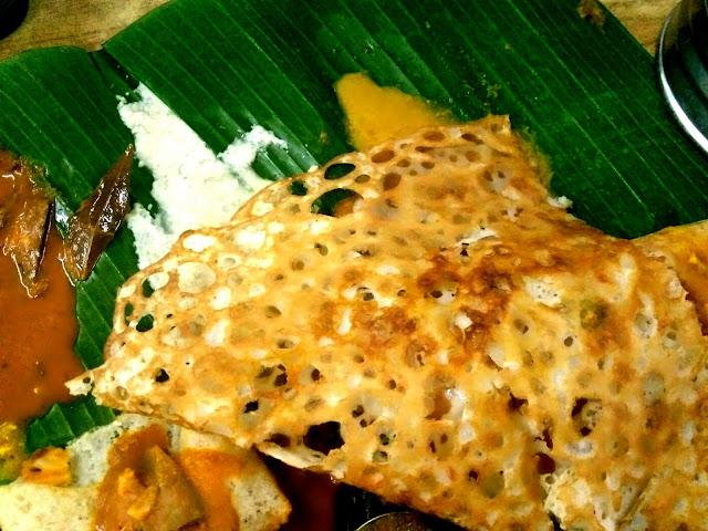Tempat makan best di Petaling Jaya, Restoran Abirami Kelana Jaya, Rawa dose, thosai rawa