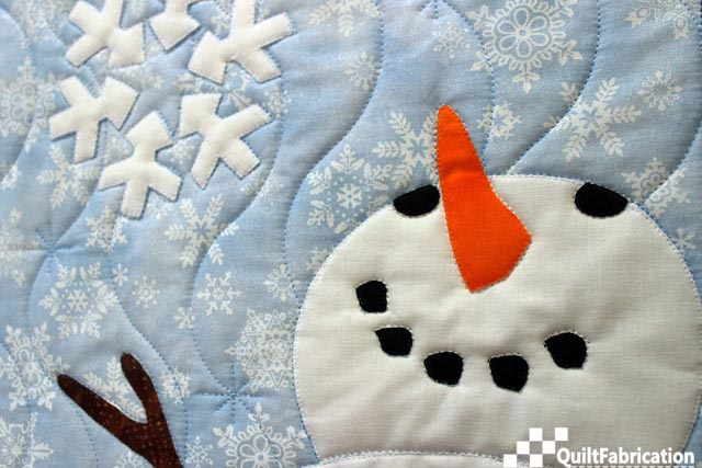 Mr Snowman face for Let It Snow wall hanging