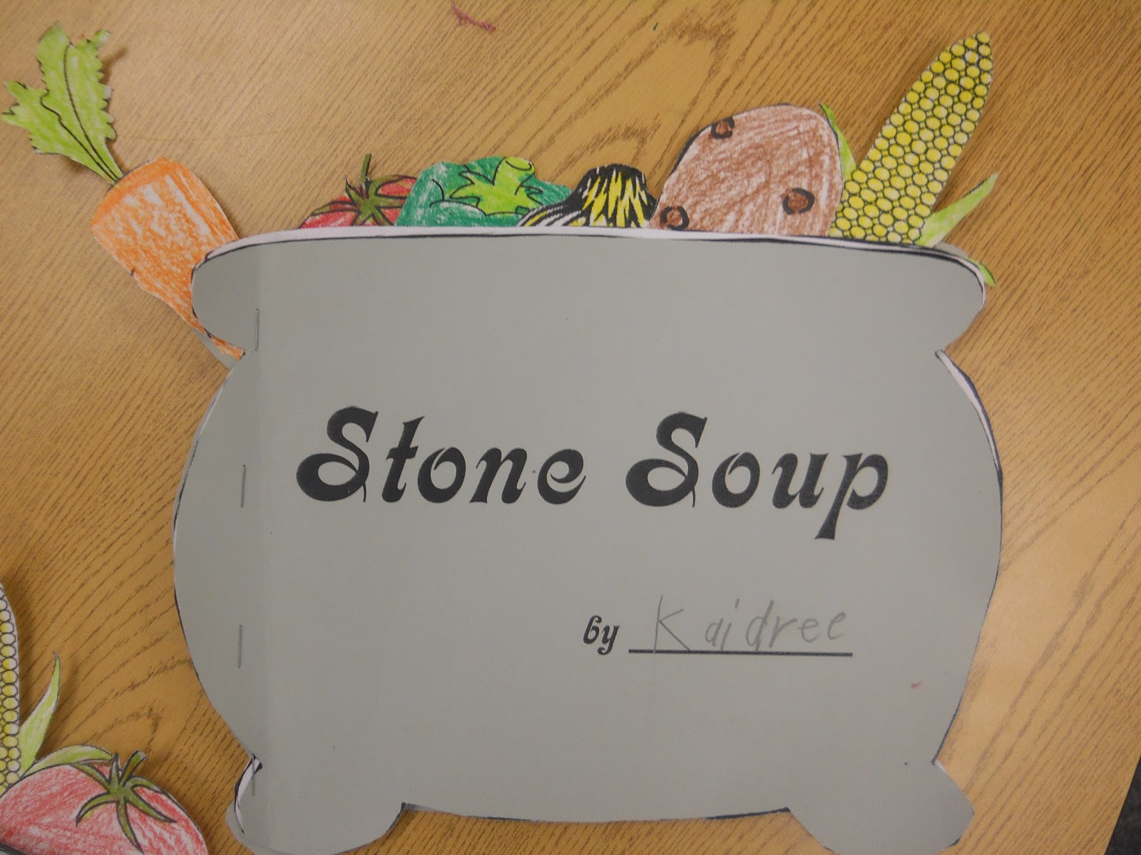 Mrs T S First Grade Class Stone Soup
