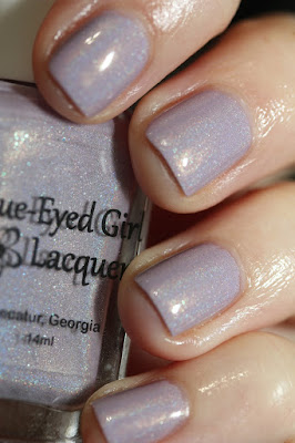 Blue-Eyed Girl Lacquer Cotton Candy Clouds