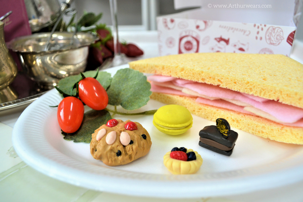How to make Betty's cafe tearoom role play sandwich