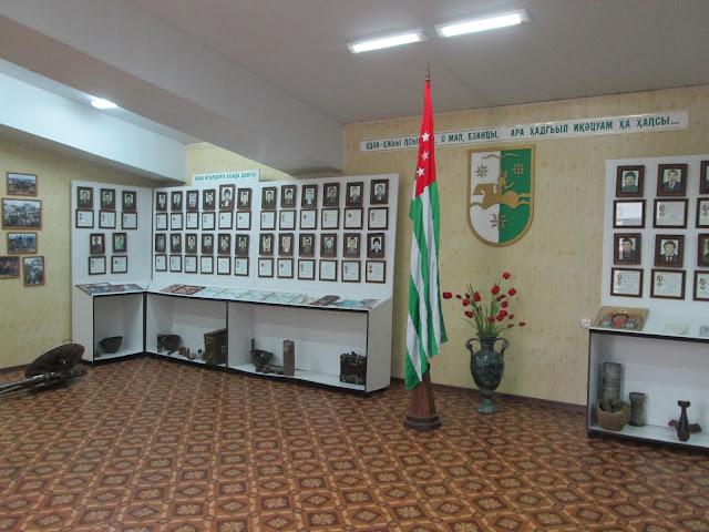La guerra de Abjasia está presente en prácticamente cada rincón