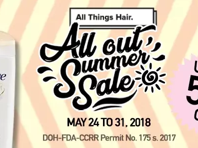Lazada's All Things Hair- All Out Summer Sale!
