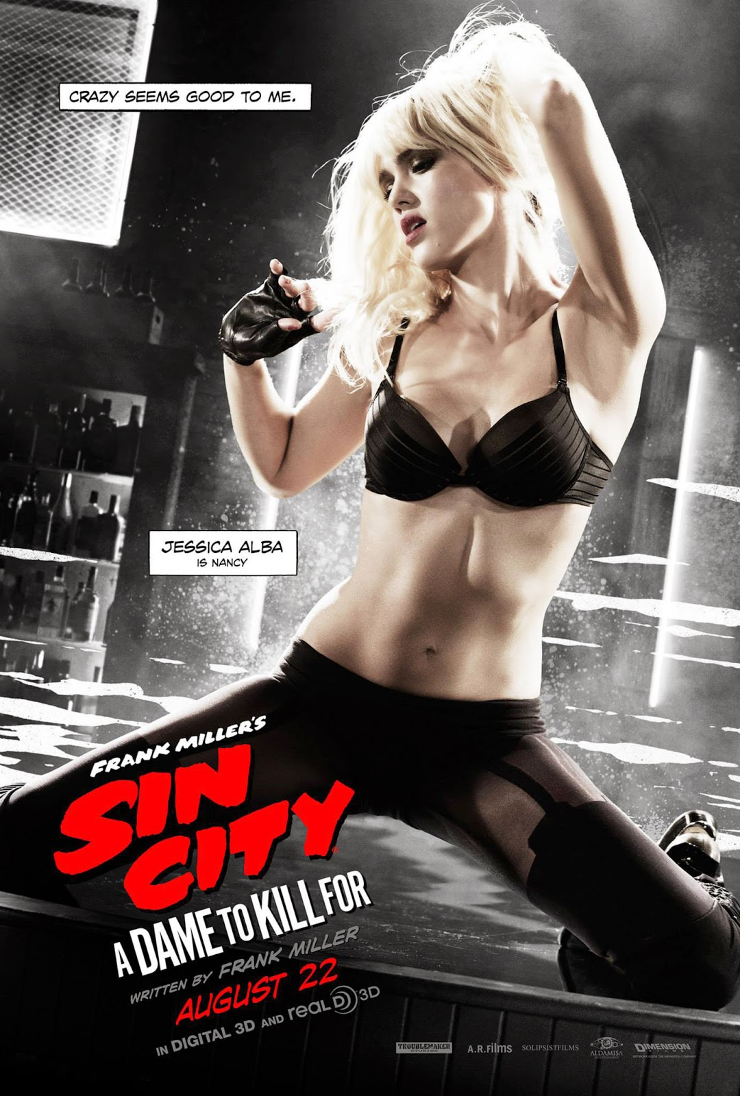 Sin City 2 A dame to kill for Ver gratis online en vivo streaming sin descarga ni torrent 2014