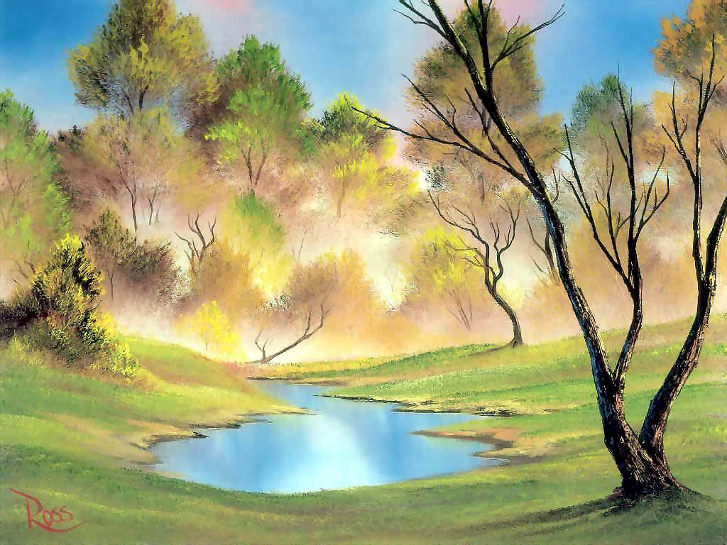 Cute Watercolor Laptop Wallpapers Painting Wallpapers Desktop Wallpapers