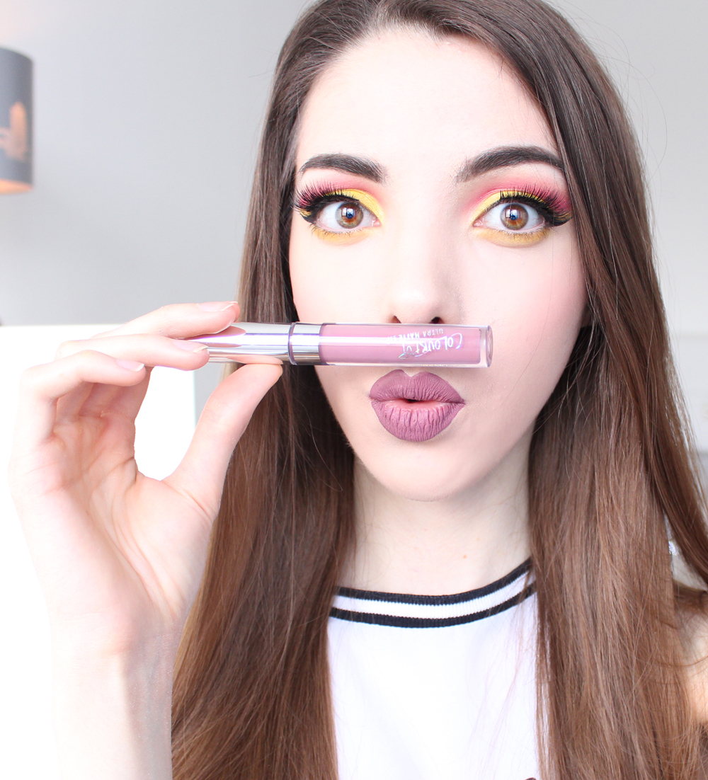 colourpop ultra matte lip lumiere 2