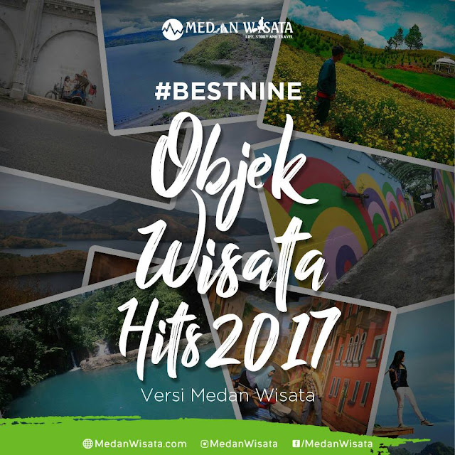 Best Nine Objek Wisata Hits Sepanjang Tahun 2017
