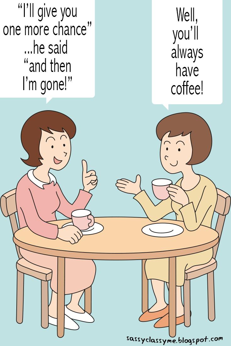 coffee gossip corner sassyclassyme