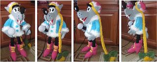 Волк-снегурочка из мультфильма