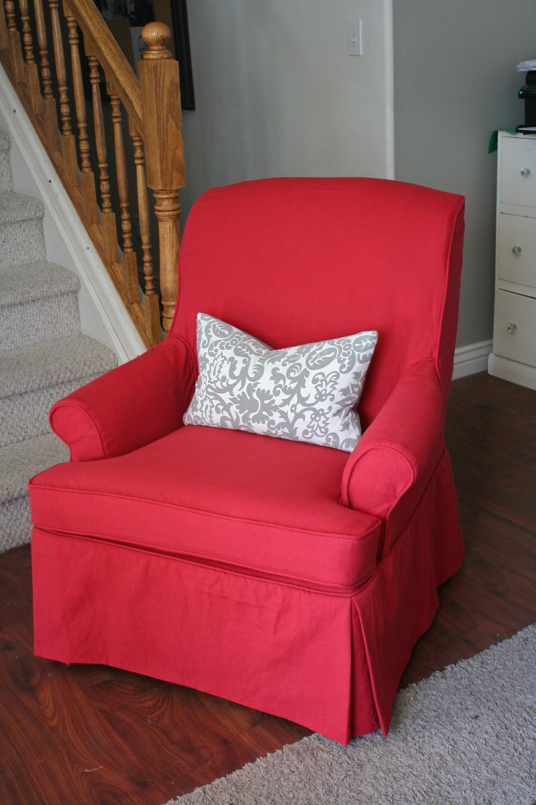 Slip Cover For Chair Custom Slipcovers By Shelley Swivel Rocker Redo