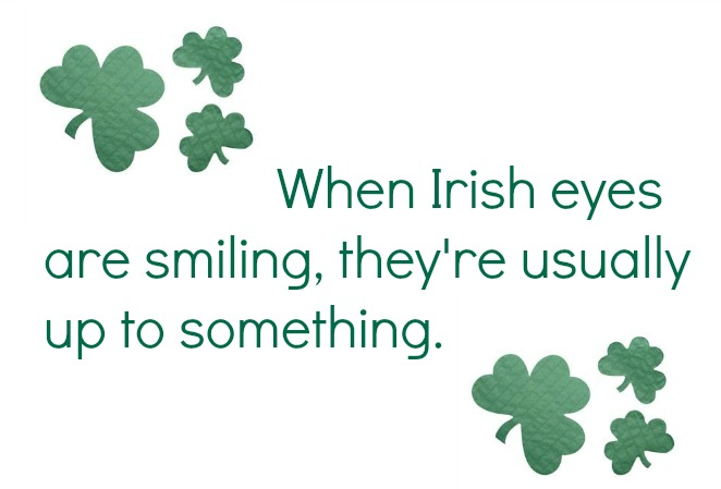 2017 St. Patrick's day quote image