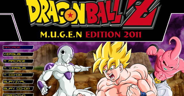Dragon Ball Z M U G E N Edition 2011 (Hi-Res) by RistaR87