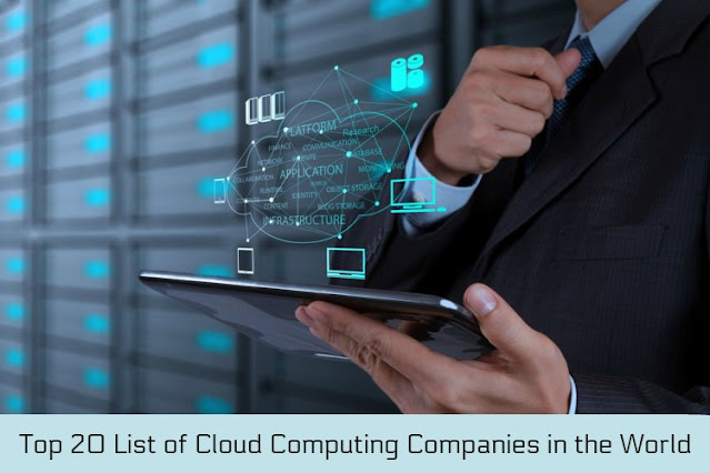Top 20 List of Cloud Computing Companies in the World