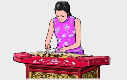 ヤンチン yangqin