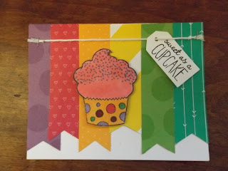 CTMH Cupcake Card Birthday