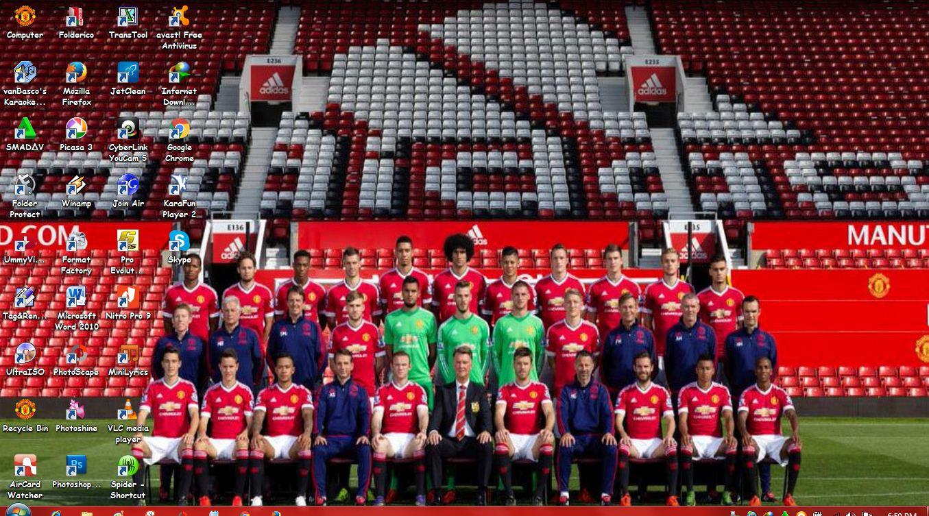 Man Utd 3d Wallpaper Download Tema Manchester United Terbaru 2016 Kumpulan