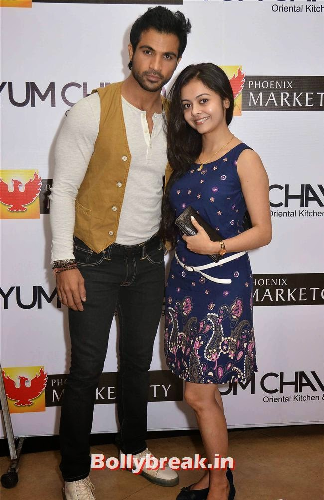 Mohammad Nazim and Devoleena Bhattacharjee, Crystal, Mouli & Mouni  at Easter Celebrations
