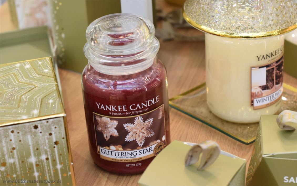 Yankee Candle - Alle Kollektionen und Duftbeschreibungen für 2018 - Winter- Weihnachtskollektion Holiday Sparkle - Glittering Star