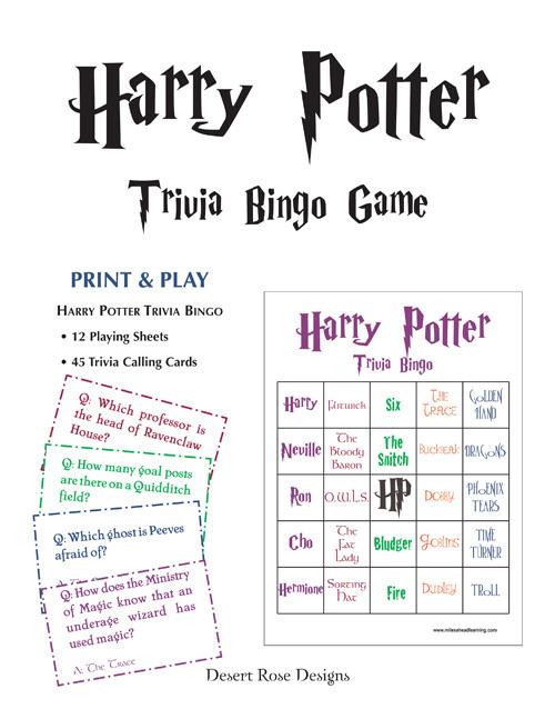 Inksplasher Harry Potter Prize Winners Part 1