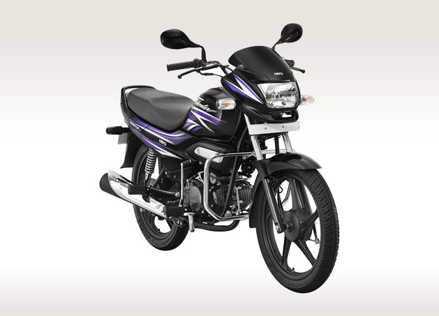 Hero Super Splendor front view